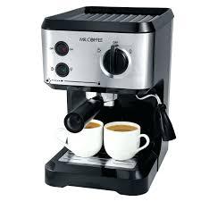 Mr Coffee Espresso Maker Parts Latte Manual Steam Cappuccino Ecm160