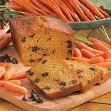 Chocolate Chip Carrot Bread Recipe
