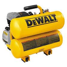 DEWALT 4 Gal Portable Electric Air pressor D The Home Depot