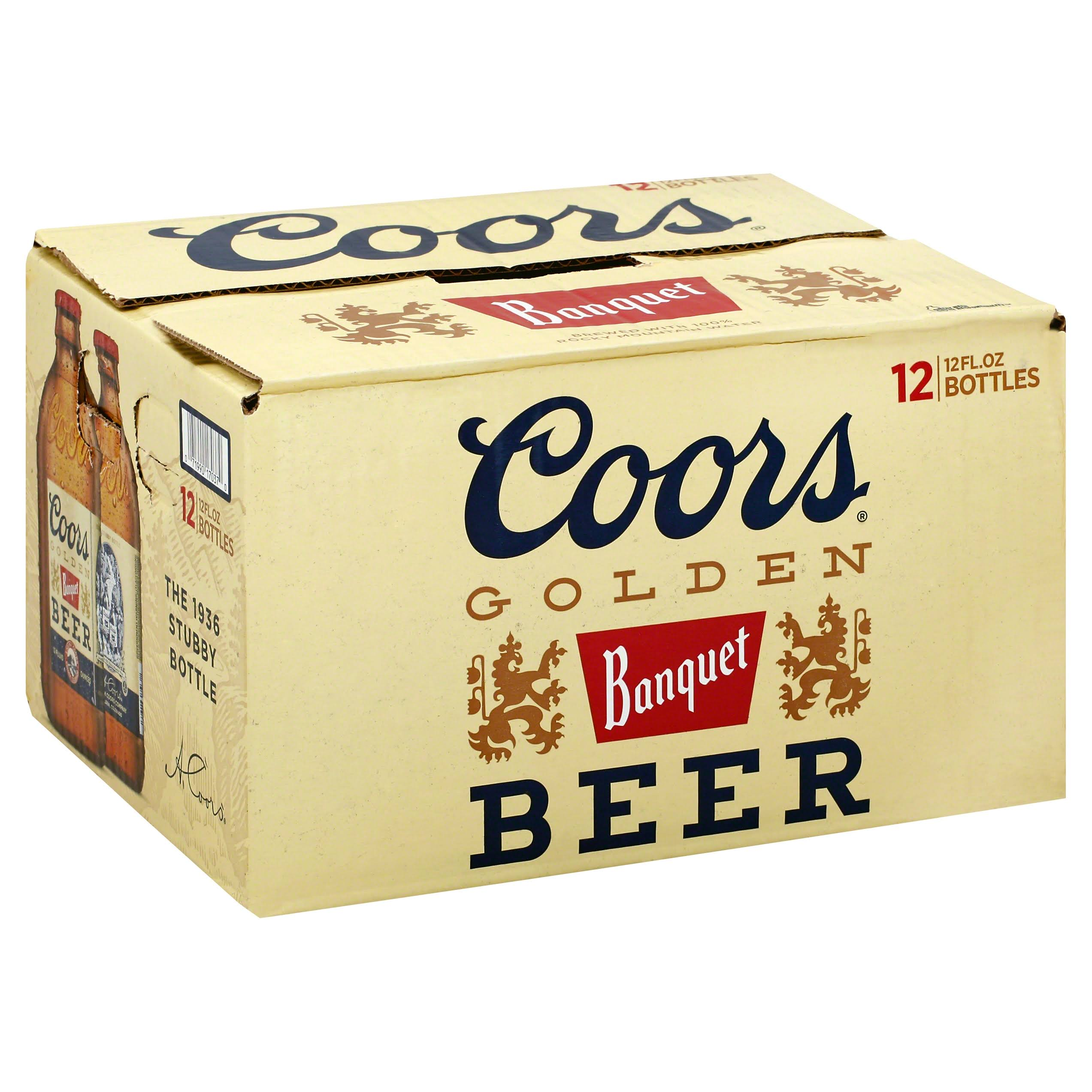 Coors Golden Banquet Beer
