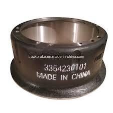 100 Quality Truck Parts China High Brake Drum OEM 3354230101 China