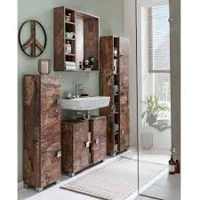 30x168x23 badezimmer hochschrank 3 türig arolina