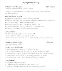 Resume Examples Gap Work History Format Employment Sample Without His