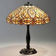 Duffner And Kimberly Lamp Base by Mosaic Glass Table Lamp Attributed To Duffner U0026 Kimberly Sale