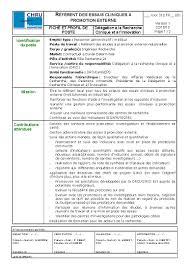 fiche metier secretaire medicale février 2014 syndicat national des scientifiques hospitaliers