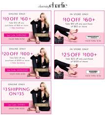 Charming Charlie Coupons - $10 Off $60 & More At Wayfair Coupon Code Black Friday Cleartrip Coupons Charming Charlie Coupon Codes Shoppingworldzcom Bogo All Reg Priced Jewelry And Watches Original South Africa Shop Promo Allegiant Air Bgage Grand Haven 9 Backyardpoolsuperstore Com Freecharge Dish Tv Today Get Discount On Airpods Yoga Outlet Uk Sears Auto Alignment 15 Off 65 More At Cc Domain Deals O2 Iphone 5s Mcdonalds Codes India Business 21 Publishing Kwik Kar Frisco Oil Change Nordstrom Nicotalia Moo Shoes