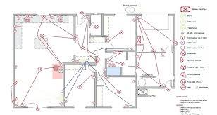 schema cuisine plan electrique cuisine installation la cuisine a respecter schema