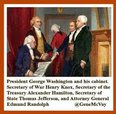 Six Years Later George Washington Became The First President Of United States And Our Founding Father Henry Knox One His Four Cabinet