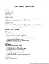Resume For Work Sample New Job Seekers Jobs Example Resumes Title No