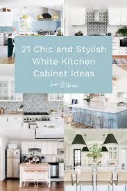 21 White Kitchen Cabinets Ideas 21 Chic And Stylish White Kitchen Cabinet Ideas In 2020