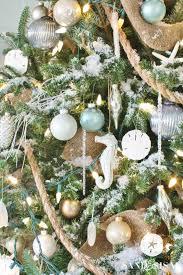 Seashell Christmas Tree Garland by Top 40 Christmas Coastal Theme Decoration Ideas U2013 Christmas