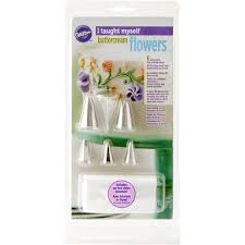 Wilton Decorator Preferred Fondant Michaels by Buy The Wilton I Taught Myself Buttercream Flowers Set At Michaels