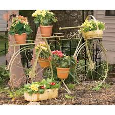 Patio Plant Stands Wheels by 37 Best Bicycle Planters Images On Pinterest Planters Bicycles