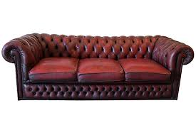 canape style ancien chesterfield