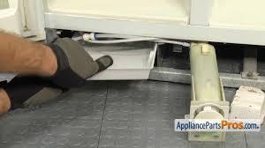 Whirlpool Refrigerator Leaking Water On Floor whirlpool wpw10614158 evaporator tray appliancepartspros com