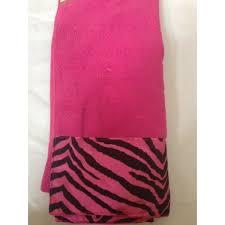Pink Cheetah Print Bathroom Set by 22pc Bath Accessories Set Pink Zebra Animal Print Bathroom Rugs