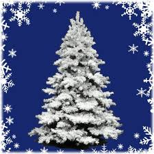 22 Best The Unlit Flocked Artificial Christmas Trees Images On Pre Lit Or