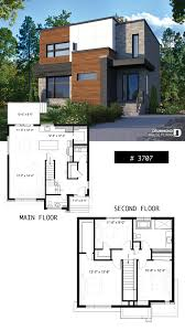 100 Modern House 3 Twostorey Modern Cubic House Plan With Pantry Laundry Room