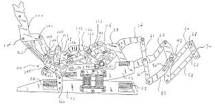 Best Chairs Inc Glider Rocker Replacement Springs by Patent Us6945599 Rocker Recliner Mechanism Google Patents