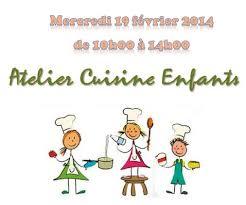 atelier de cuisine enfant mercredi 19 février 2014 atelier cuisine enfants foyer rural de