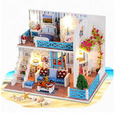 Gold 112 Mini Dollhouse Furniture Birdcages Childrens Toys Cabin