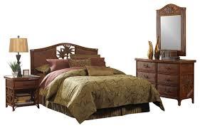 Black Wicker Bedroom Furniture Photo