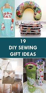 19 Wonderful DIY Sewing Gift Ideas