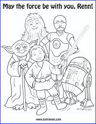 Coloring Pages Free Of Star Wars Walker