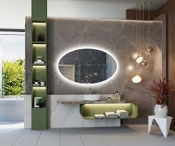 badspiegel mit led beleuchtung l74
