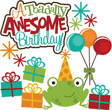 A Toadlly Awesome Birthday SVG scrapbook svg files for