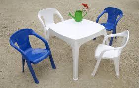 chaise de jardin enfant vintage chaise design plus salon moghli avec 1 table et 4 chaises