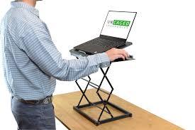 MINI Desktop Laptop Standing Desk Converter Riser Conversion ...