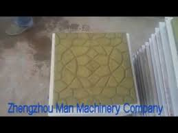 Terrazzo Tile Pressing Machine With Size Of 600x600mm Or 500x500mm