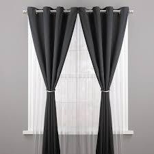 Kenney Magnetic Window Curtain Rods by Umbra Curtain Rods Umbra Stella Collin 28inch 48inch Window