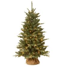 Prelit Christmas Tree That Puts Itself by Home Accents Holiday 4 Ft Poinsettia Potted Artificial Christmas