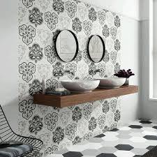 Home Depot Merola Penny Tile by Merola Tile Fantasy Hex Mix 8 5 8 In X 9 7 8 In Porcelain Floor