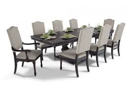 Lovely 9 Pcs Dining Room Set On Interior Remodel Inspiration With Within The Most Elegant Along