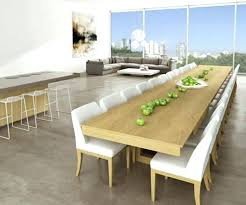 Extension Dining Table Seats 12 Delightful Ideas Large Room