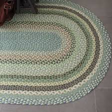Green Jute Rug by Braided Jute Rug Mint Green 120cm X 185cm