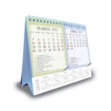 Easel Desk Calendar 2018 by Booktopia Patterned 2018 Double View Easel Desk Calendar By