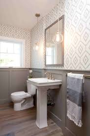 Beautiful Half Bathroom Ideas For Your Home Rose Wainscoting Accent ... Faux Wascoting Wallpaper Amazing Surprising Diy Bathroom Designs Ideas Small With White Beadboard Colored Also Awesome Ideas Bathroom Youtube Pating Unique Country Design French Porcelain Bathtub And Subway Tcworksorg Photo Page Hgtv Farmhouse Wood Wascotting With Wascoting Height In Good What It Is How To Use Pictures Of Remodeled Bathrooms Creative Delightful Green Color