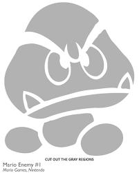 Nintendo Pumpkin Patterns by Mario Pumpkin Templates Virtren Com