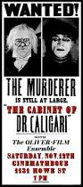 The Cabinet Of Doctor Caligari Online by The Cabinet Of Dr Caligari U201d Live At The Cinematheque Saturday