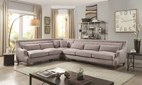 Gray Sectional Living Room Ideas by Sutton Place 3 Piece Grey Sectional Haynes Furniture Virginia U0027s