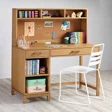 Black Writing Desk With Hutch by Cargo Kids Desk Natural The Land Of Nod