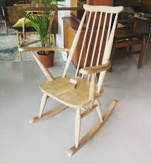 Our House - Cute Ercol Style Rocker In Blonde Wood. | Facebook
