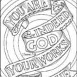 BIBLE VERSE COLORING PAGE 2
