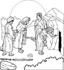 Easter Coloring Pages Religious Education