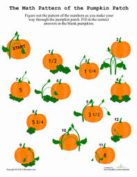 Halloween Math Multiplication Worksheets by 5th Grade Halloween Math Worksheets Education Com
