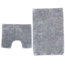 Office Chair Mat For Carpet Argos by Buy Striped Bath And Pedestal Mat Set Grey At Argos Co Uk Your